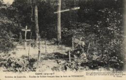 D 5486 - Environs De Lunéville  (54) Tombes De Soldats Français Dans La Forêt De Vitrimont  Guerre 1914-1915 - Francia