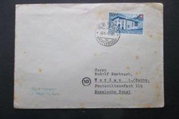 Helvetia: 1946 Cover To Verdau/Sachs. (#BU5) - Covers & Documents