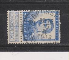 COB 120 Oblitération Centrale BRUXELLES 10F - 1912 Pellens