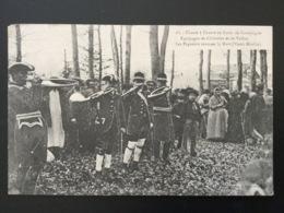 CPA Chasse à Courre En Forêt De Compiègne Les Piqueurs Sonnent La Mort Numérotée 18 - Chasse
