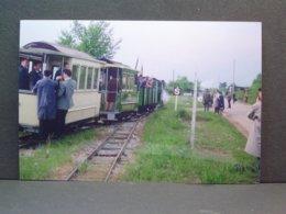CFTM Meyzieu Départ Du Train Spécial Le 07 Mai 1966 Tirage De La Photo En 2006 - Trains