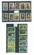 588 TP - FRANCE 2008 - 2 SERIES COMPLETES (ADHESIVES) TABLEAUX DE PEINTRES Et VACANCES - Gebraucht