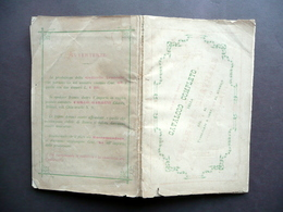 Catalogo Completo Della Galleria Teatrale Barbini 1-350 Milano Marzo 1881 - Vecchi Documenti