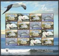 A867 2013 TRISTAN DA CUNHA WWF FAUNA BIRDS TRISTAN ALBATROSS !!! MICHEL 32 EURO !!! 1SH MNH - W.W.F.