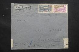CAMEROUN - Enveloppe De Douala Pour L 'Allemagne En 1937, Ouvert Par La Poste All. , Affranchissement Plaisant- L 43494 - Cameroun (1915-1959)
