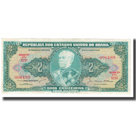 Billet, Brésil, 2 Cruzeiros, KM:157Ab, SPL - Brasilien