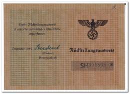Rückstellungsausweis 3 Jan. 1945 - Documents Historiques