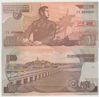 Korea North 10 Won 1998 Pick 41cS UNC 0000000 - Korea, North
