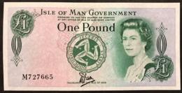 ISLE OF MAN 1 POUND 1983 Pick#38 Lotto.2925 - [ 4] Isle Of Man / Channel Island