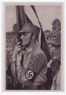 """DT- Reich (001244) Propaganda Sammelbild Deutschland Erwacht"""""""" Bild 61, Ein Kämpfer Für`s Dritte Reich - Deutschland"""
