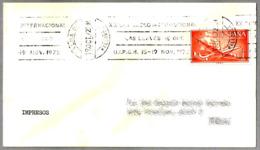 XX Congreso Int. LAS LLAVES DE ORO - UIPGH (Union Int. Des Portiers Des Grands Hotels). Palma Mallorca, Baleares, 1972 - Otros