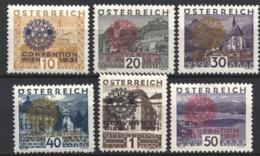 1931 Yvert Nº 398A / 398F MH. - Nuevos