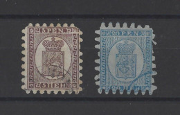 FINLANDE.  YT   N° 5-8  Obl  1866 - 1856-1917 Russian Government
