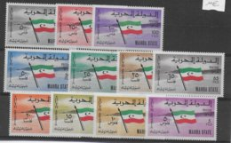 MAHRA STATE - YVERT N° 1 ** MNH  SERIE DRAPEAUX - COTE = 30 EUR. - - Stamps