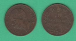 10 Centesimi 1894 Birningam  Italia Regno  Re Umberto I - 1861-1946 : Regno