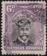 Southern Rhodesia    .   SG   .   7      .   O          .   Cancelled        .   /   .  Gebruikt - Rhodésie Du Sud (...-1964)