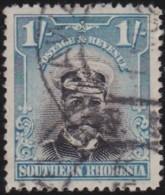 Southern Rhodesia    .   SG   .   10      .   O          .   Cancelled        .   /   .  Gebruikt - Rhodésie Du Sud (...-1964)