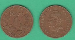 100 Franchi 1986 Polinesia Francese Polynesie Francaise - Colonie