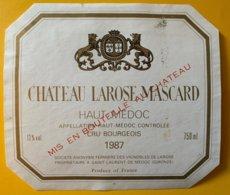 11876 - Château Larose-Mascard 1987 Haut-Médoc - Bordeaux