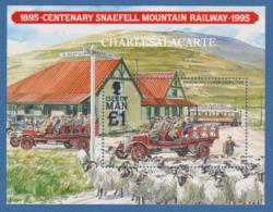 ISLE OF MAN 1995  SNAEFELL MOUNTAIN RAILWAY  M.S.  S.G. MS 638 - Man (Ile De)