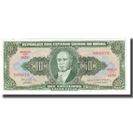 Billet, Brésil, 1 Centavo On 10 Cruzeiros, KM:183a, NEUF - Brasilien
