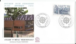Enveloppe Premier Jour  - FDC -  1987 - Europa - Paris - 1980-1989