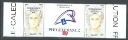 """Nle-Caledonie Aerien YT 261A Paire (PA) """" Révolution Française """" 1989 Neuf** - Luftpost"""