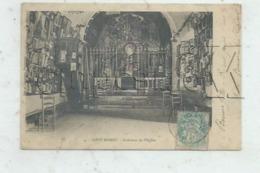 Font-Romeu-Odeillo-Via (66) : L'intérieur De L'église De Font-Romeu Env 1905 PF. - Autres Communes