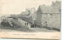 DEP 35 SAINT MALO LES REMPARTS LA HOLLANDE - Saint Malo