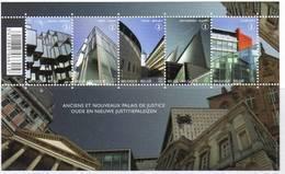 Blok 191**Oude En Nieuwe Justitiepaleizen Met 4160/64**  Bloc 191 MNH Anciens Et Nouveaux Palais De Justice - Blocks & Sheetlets 1962-....