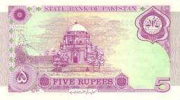 PAKISTAN P. 44 5 R 1997 UNC - Pakistan