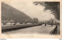D29  QUIMPER  Passerelle Sur Le Steir   ..... - Quimper