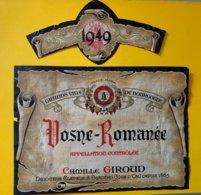 11887 - Vosne-Romanée 1949 Camille Giroud - Bourgogne