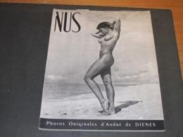 NUS - PHOTOS ORIGINALES D'ANDRE DE DIENES - PARIS 1949(?) - Arte
