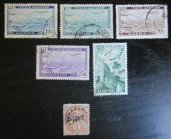 Algérie - YT PA2 PA3 PA4 PA5 PA9 Préo1 - Algeria (1924-1962)