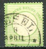 Allemagne   Y&T   14    Obl     ---      Mi 17 --    TTB... - Unused Stamps
