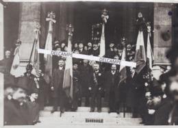 NAPOLÉON III 1913 - Photo Originale De La Cérémonie Commémorative De Sa Mort à L'église St Augustin à Paris .... - Photos