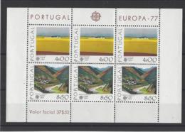 PORTUGAL.  YT  Bloc N° 20  Neuf **   1977 - Blocs-feuillets