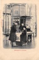 PARIS- MARCHANDE DE JOURNAUX - Petits Métiers à Paris
