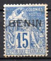 Col17  Colonie Benin N° 6 Oblitéré Cote 40,00€ - Bénin (1892-1894)