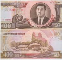 Korea North 100 Won 1992(2007) Pick 53 UNC - Corea Del Nord