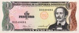 Dominican Republic 1 Peso Oro, P-126a (1984) - UNC - República Dominicana