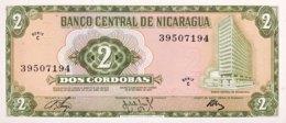 Nicaragua 2 Cordobas, P-121 (27.4.1972) - UNC - Nicaragua