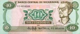 Nicaragua 10 Cordobas, P-151 (1985) - UNC - Nicaragua