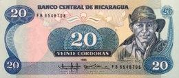 Nicaragua 20 Cordobas, P-152 (1985) - UNC - Nicaragua