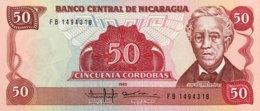 Nicaragua 50 Cordobas, P-153 (1985) - UNC - Nicaragua