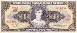 Brazil 5 Centavos, P-184a (1966) - UNC - Brasilien