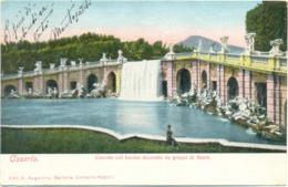 19271 - Caserta - Cascata Col Bacino Decorato Da Gruppi Di Figure F - Caserta