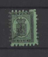 FINLANDE.  YT  N° 9  Obl    1866 - 1856-1917 Russian Government