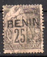 Col17  Colonie Benin N° 8 Oblitéré Cote 100,00€ - Oblitérés
